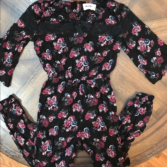 Abercrombie Kids One Pieces Girls Floral Jumper Size